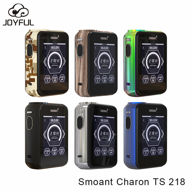 Smoant Charon TS 218W Mod with VV/TC Touch Screen