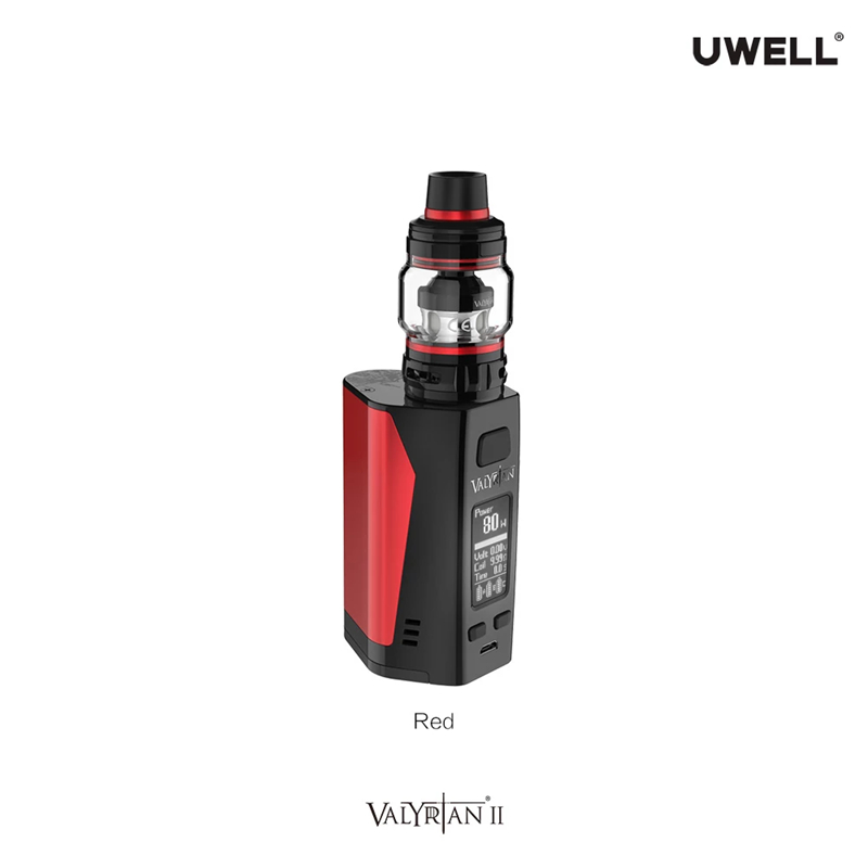 Newest 300W Mods Vape Uwell Valyrian II Kit with 6ml Valyrian II Tank
