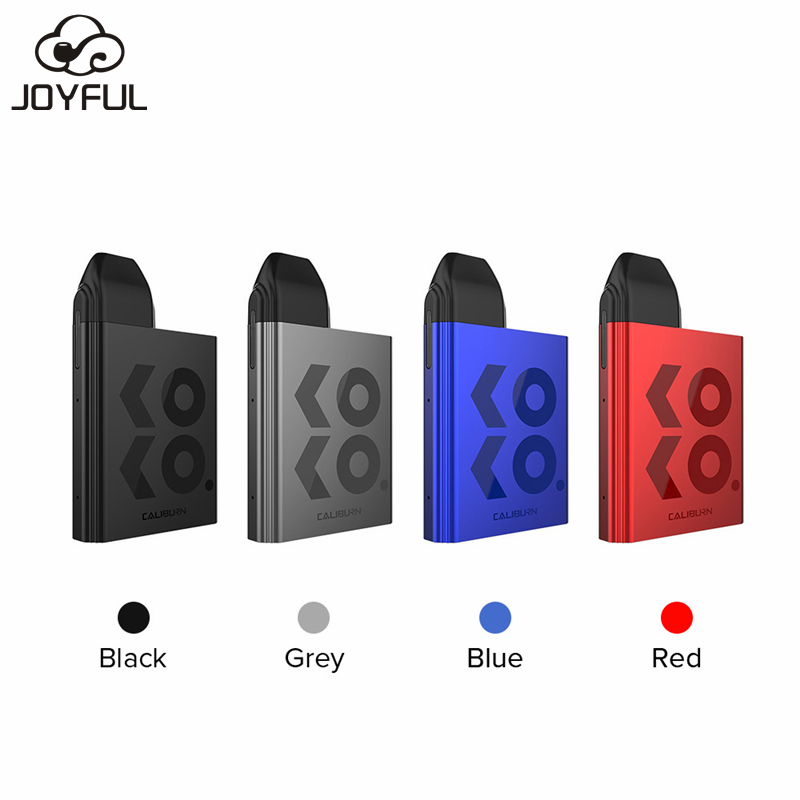 Newest Pod System Vape Kit Uwell Caliburn KOKO Pod Kit 2ml Refillable Cartridge