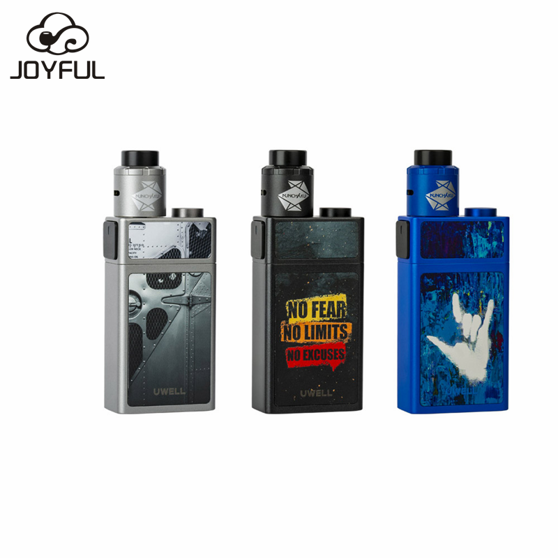 Newest Squonk Mod Vape Uwell Blocks Squonk 90W Kit