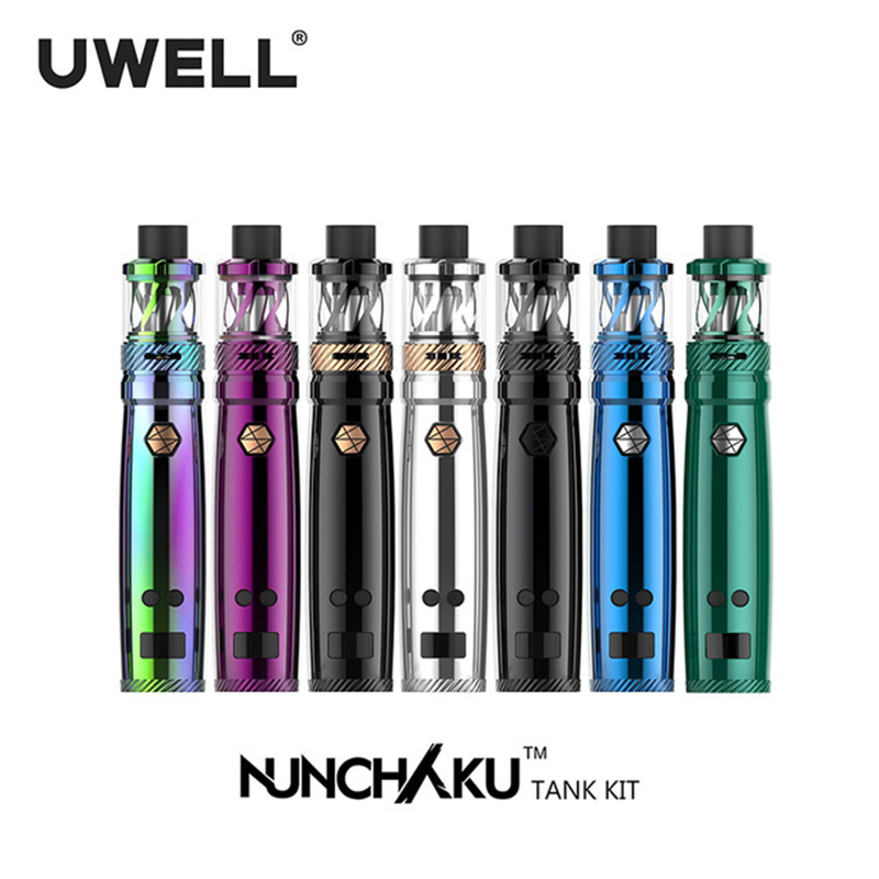 5ml E Cig Pen Kit Uwell Nunchaku Kit 80W Vape Pen Starter Kit