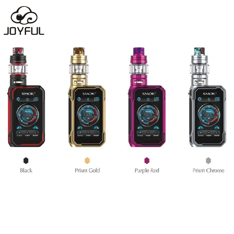 Newest 230W Mods Vape SMOK G-Priv 3 Kit with 5ml SMOK TFV16 Lite Tank Atomizer