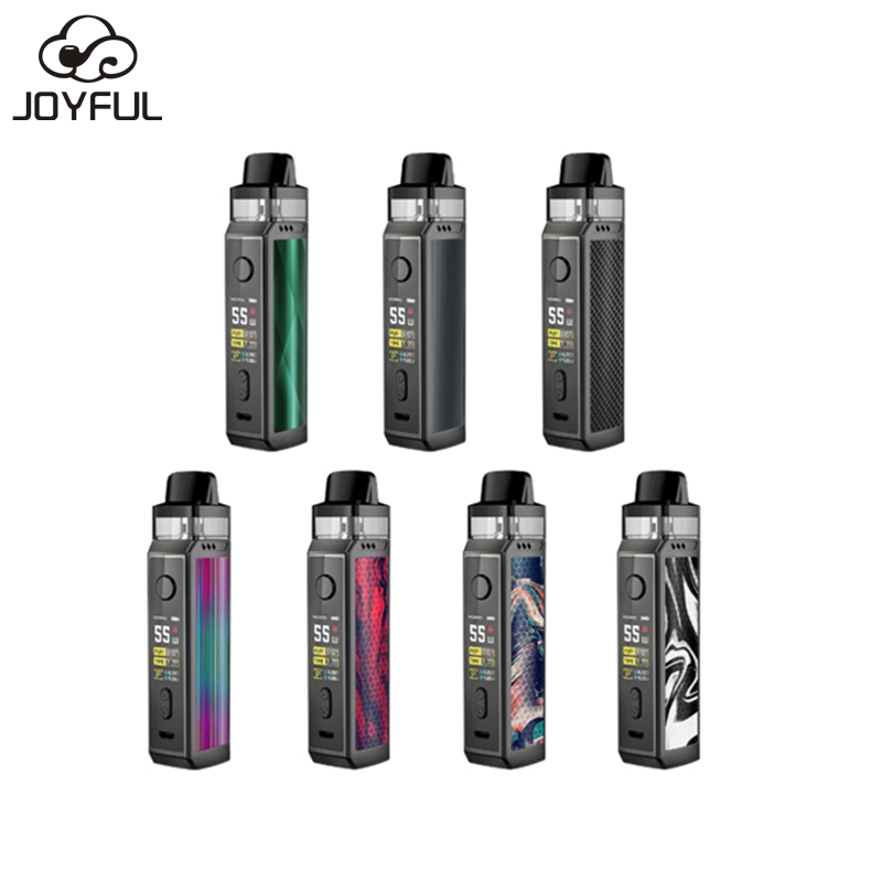 Single 18650 Battery 75W Mods Vape Voopoo VINCI X Mod Pod Vape Kit