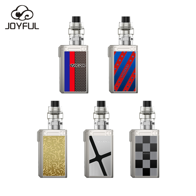 Dual 18650 Battery Mods Vape Voopoo Alpha ZIP 180W Box Mod Kit